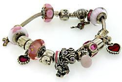 Pandora Charm Bracelet in Sterling