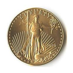 1999 American Gold Eagle 1/2 oz Uncirculated