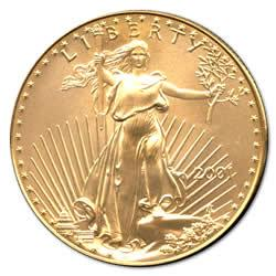 2001 American Gold Eagle 1oz Uncirculated