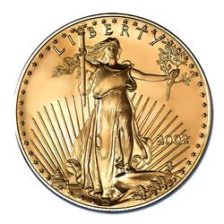 2002 American Gold Eagle 1oz Uncirculated
