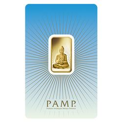 PAMP Suisse 10 gr Gold Bar - Buddha