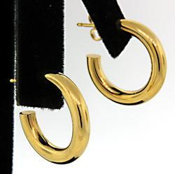 Tiffany & Co Hoop Earrings in 18K