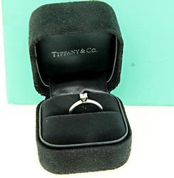 Tiffany & Co Diamond Solitaire Ring in Platinum