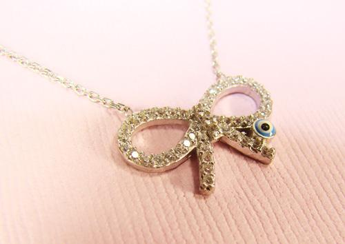 ADORABLE 925 STERLING SILVER PENDANT WITH TRENDY MOTIF