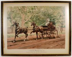 1893 Heliotype Tandem Shooting Cart, Vanderbilt Allen