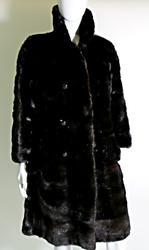 Mahogany Mink Section Stroller Coat