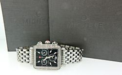 Michele Deco Chronograph with Diamonds