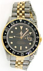 Rolex 2 Tone GMT Master II in 18K/SS