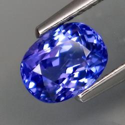 Premium 1.08ct top blue Tanzanite