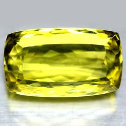 Impressive 27.27ct VVS cushion cut Citrine