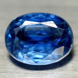 Real 2.01ct untreated vivid blue Kyanite