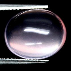Lovely 10.30ct untreated pink rose Quartz cabochon