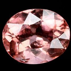 Striking 100% natural rose pink 1.18ct Tourmaline
