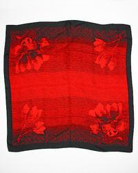 100% Silk  Sophisticated Jacquard Pattern Scarf