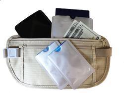 Travel Beige Money Belt