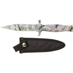 Digital Camo Survival Tactical Bowie Knife with Sheath