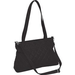 Leather Shoulder Strap Tote Handbag