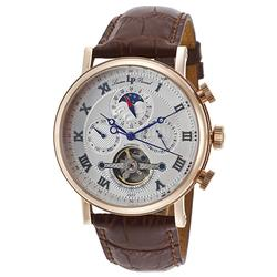 New Mens Lucien Piccard Day/Night, Day/Date Automatic