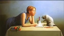 Stunning Original by Acclaimed Artist Sandra Batoni