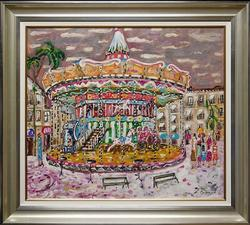French Carousel by European Artist
