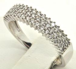 Elegant 14kt Gold Diamond Band, 0.80ctw!