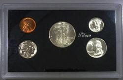 Exceptional Gem BU 1936 Philadelphia Mint Five Coin Set