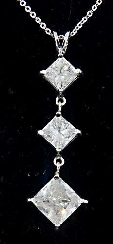 431 ctw diamond past present future pendant necklace 431 ctw diamond past present future pendant necklace mozeypictures Image collections