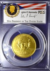 RARE 2015-W JACQUELINE KENNEDY $10 GOLD MS69