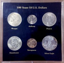 6pc US Dollar Variety Set UNCS