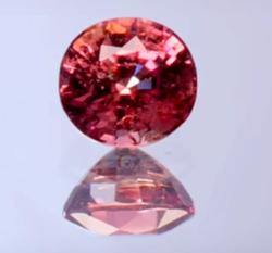 Step-Cut Padparadscha Color Sapphire - 1.45 carats