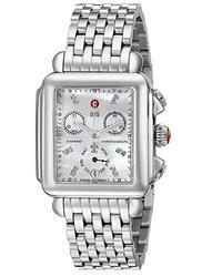 New Ladies Michele Diamond MOP Chronograph Day/Date