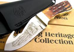 Hunting Heritage Hook Hunter Fixed Blade Knife