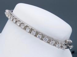 Bangle Diamond Bracelet