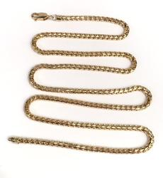 18kt Gold Men's Franco Chain Necklace