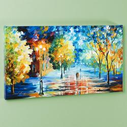 Unique & Vibrant Textured Giclee on Canvas