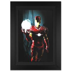 Framed Iron Man Stan Lee Marvel Limited Edition Canvas