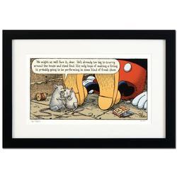 Bizarro! Framed Limited Edition Satirical Wall Art
