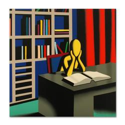 Hand Signed Serigraph by Mark Kostabi