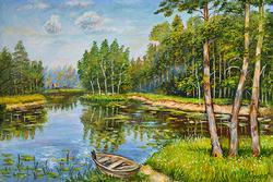 FANTASTIC NIKOLAY KURSHEV ORIGINAL OIL