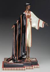 Collectible Erte Original Bronze, Michelle