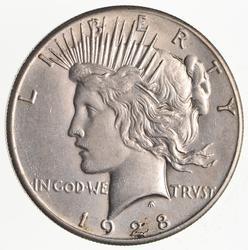 1928 Peace Silver Dollar- Near Uncirculated