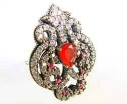 Glamorous & Elegant Elaborate Classic Design 925 S Ring