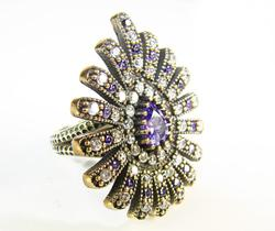 Spectacul Unique Elaborate Classic Design 925 S Ring