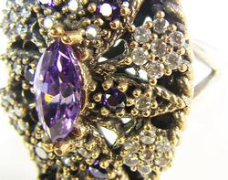 Astonishing & Exceptional Elaborate Design 925 S Ring