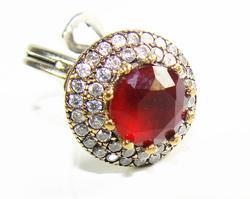 Elaborae Handcrafted Classic Jewelry Design 925 S Ring