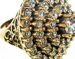 Glamorous Exclusive Artisan Design Handcrafted Ring