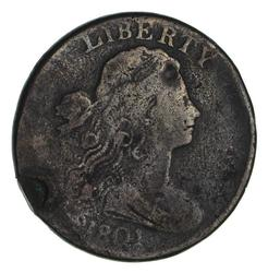 1801 Draped Bust Large Cent - Circulated