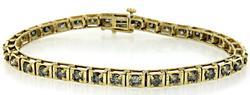 Stunning 3ctw Diamond Tennis Bracelet