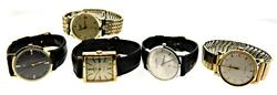 Lot of 5 vintage Men's Watches