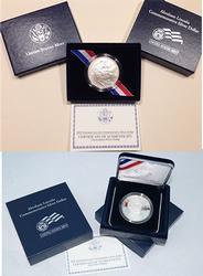 5 x Proof & 5 x BU 2009 Lincoln Commem Silver Dollars